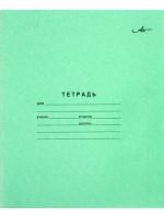 Тетрадь школьная 12 листов, клетка, артикул AZ02