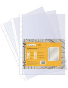 Файл с универсальной боковой перфорацией OfficeSpace. Артикул ПВ_30ГЛ. Упаковка 100 штук